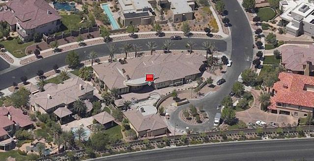 Floyd Mayweather Jr. home in Las Vegas