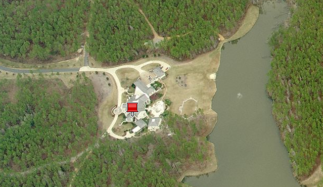Ex-NFL QB Brett Favre's homes in Mississippi