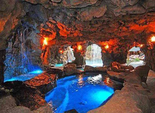 Underground Cave Home.  Drake Snags LA Cave Home for a Discounted Price of 7 Mil