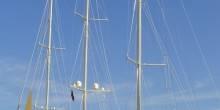 Jim Clark's 90 meter sailing yacht Athena