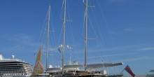 Jim Clark yacht Athena at Monaco Yacht Show