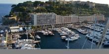 Monaco Yacht Club and Principality Palace above