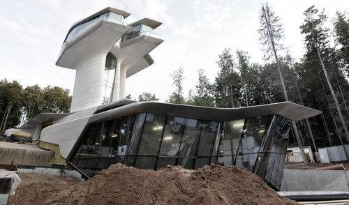Naomi Campbell's Spaceship-Style Home