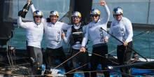 Oracle Team USA Spithill won the San Francisco World Series again.