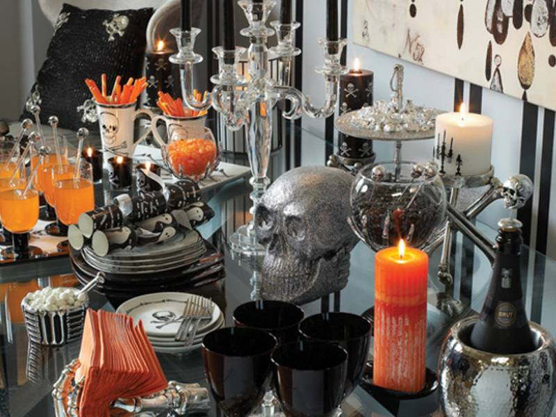 Haute halloween decor haute residence featuring the for Haute decor