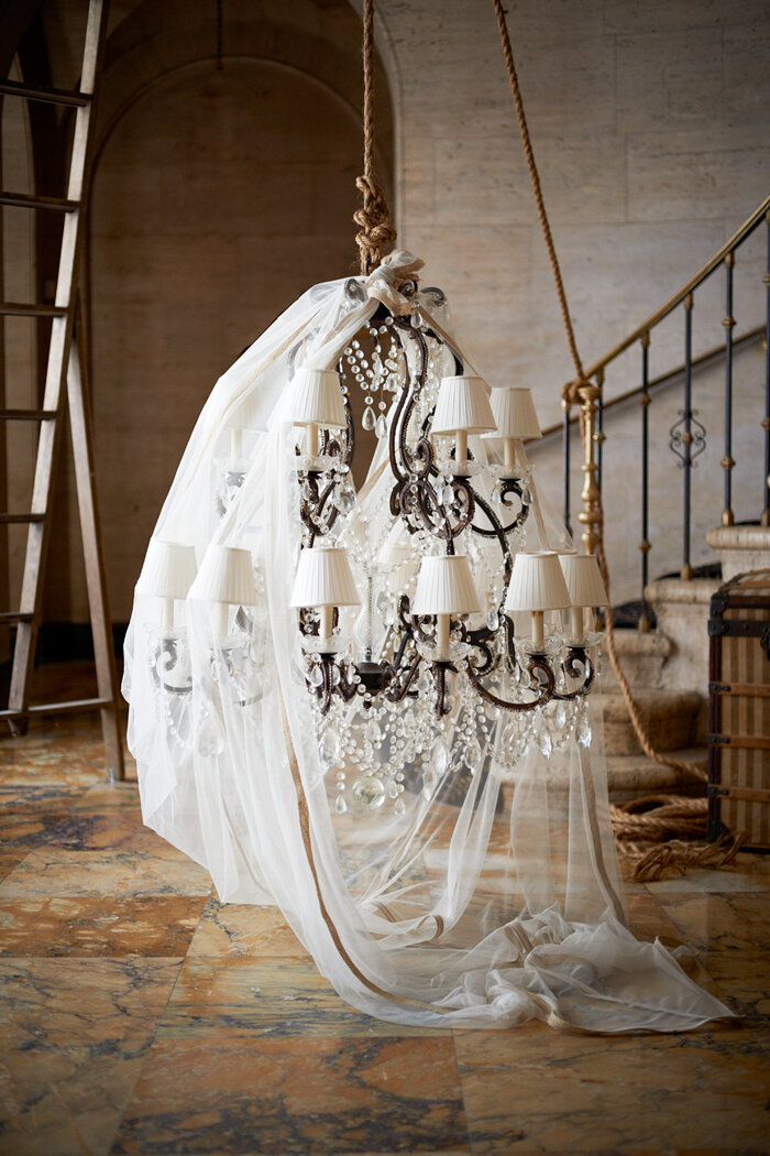 victorian inspired adrianna chandelier from ralph lauren 39 s new iconic design collection haute. Black Bedroom Furniture Sets. Home Design Ideas