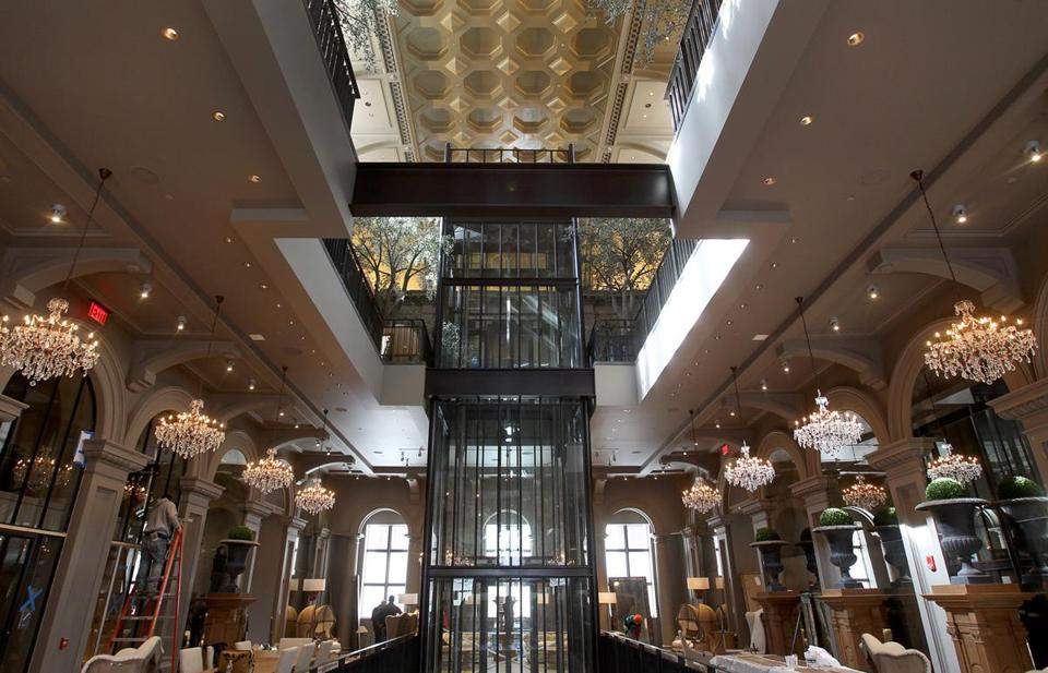 Restoration Hardware Unveils 24-Foot Eiffel Tower Replica ...