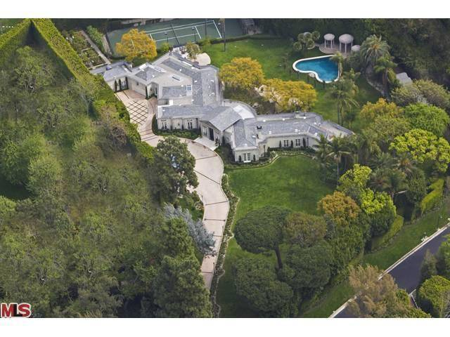 Casey Kasem's Holmby Hills Palace With Heart-Shaped Pool Hits the Market for $42M