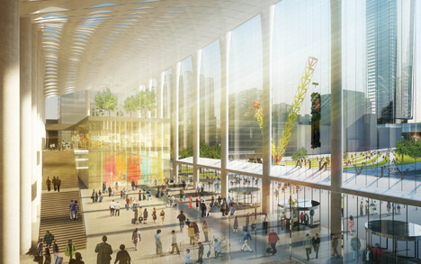 dezeen_Four-architects-propose-Penn-Station_5_SHoP