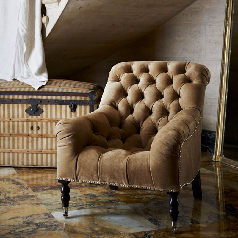 Haute Furniture Ralph Lauren S Mayfair Tufted Chair