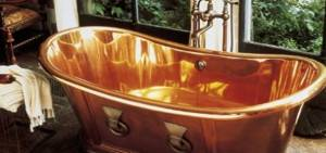archeo copper bathtub