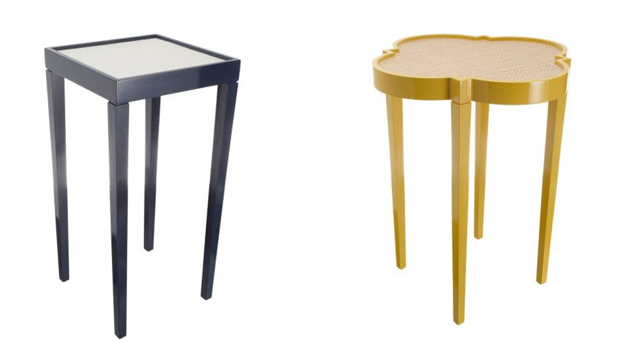 Haute furniture stylish end tables - Table haute exterieure ...