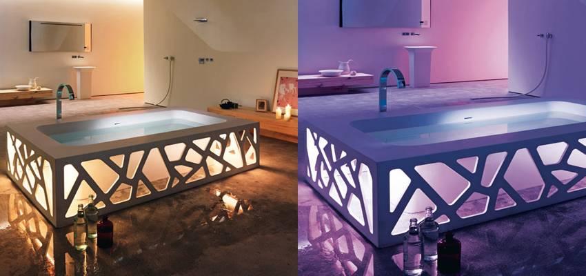 origami bathtub