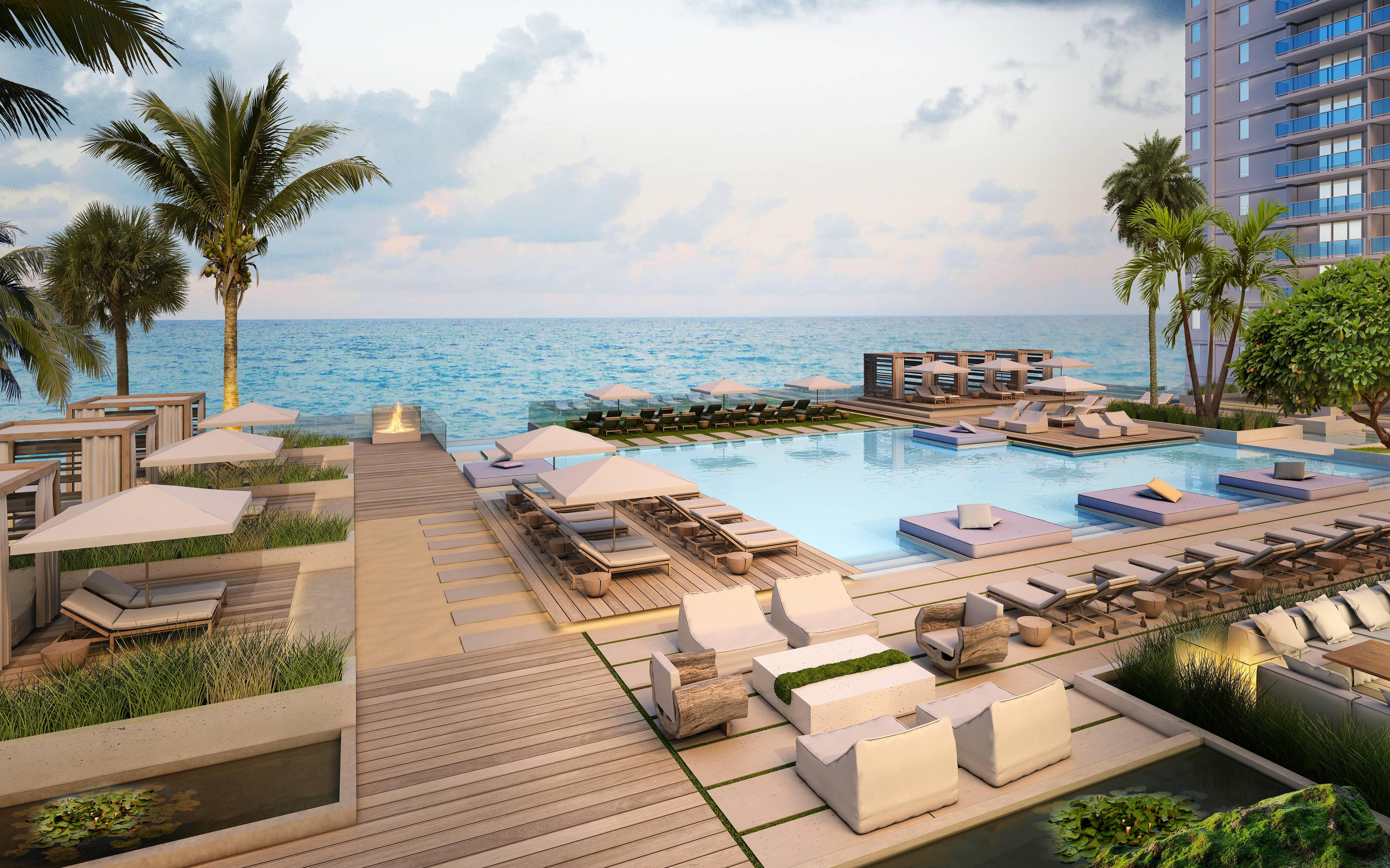 1 Hotel & Homes South Beach Pool Deck