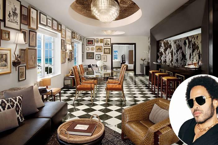 Lenny Kravitz Designs Jennifer Aniston S Bel Air Interior