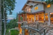Soon To Be Auctioned . . . The Crested Eagle Estate: A Skier's Sanctuary