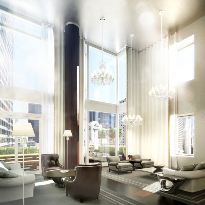 baccarat penthouse nyc
