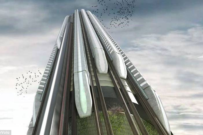 vertical train hub