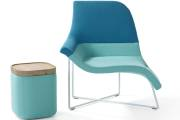 Two-Toned Bliss: Try Color Blocking with UNStudio's Gemini Chair