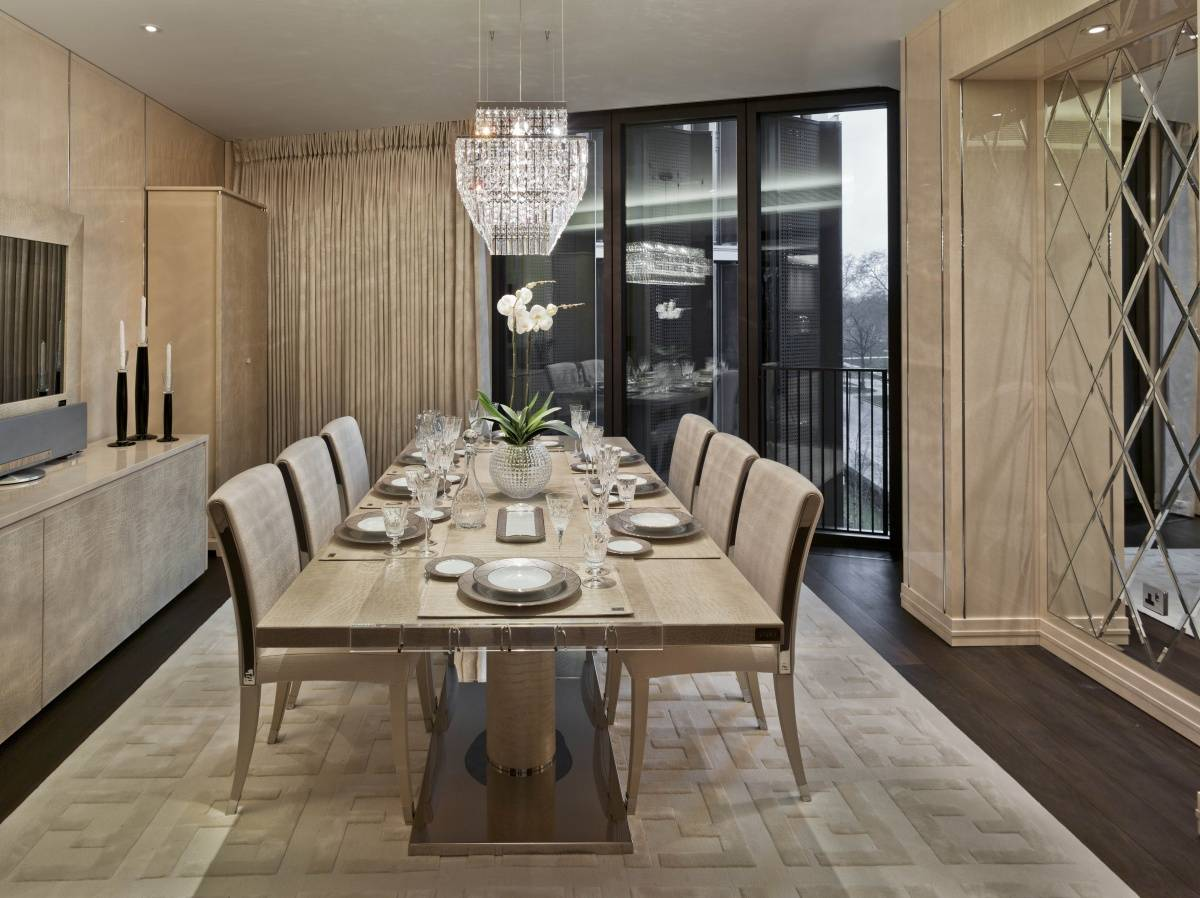 Fendi casa presents mandarin oriental at london 39 s one hyde Arredi di lusso casa