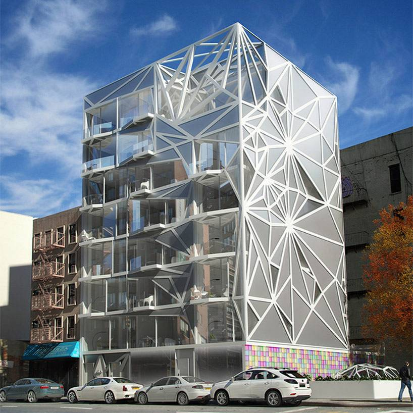 HAP 6 NY Residential Building by Karim Rashid
