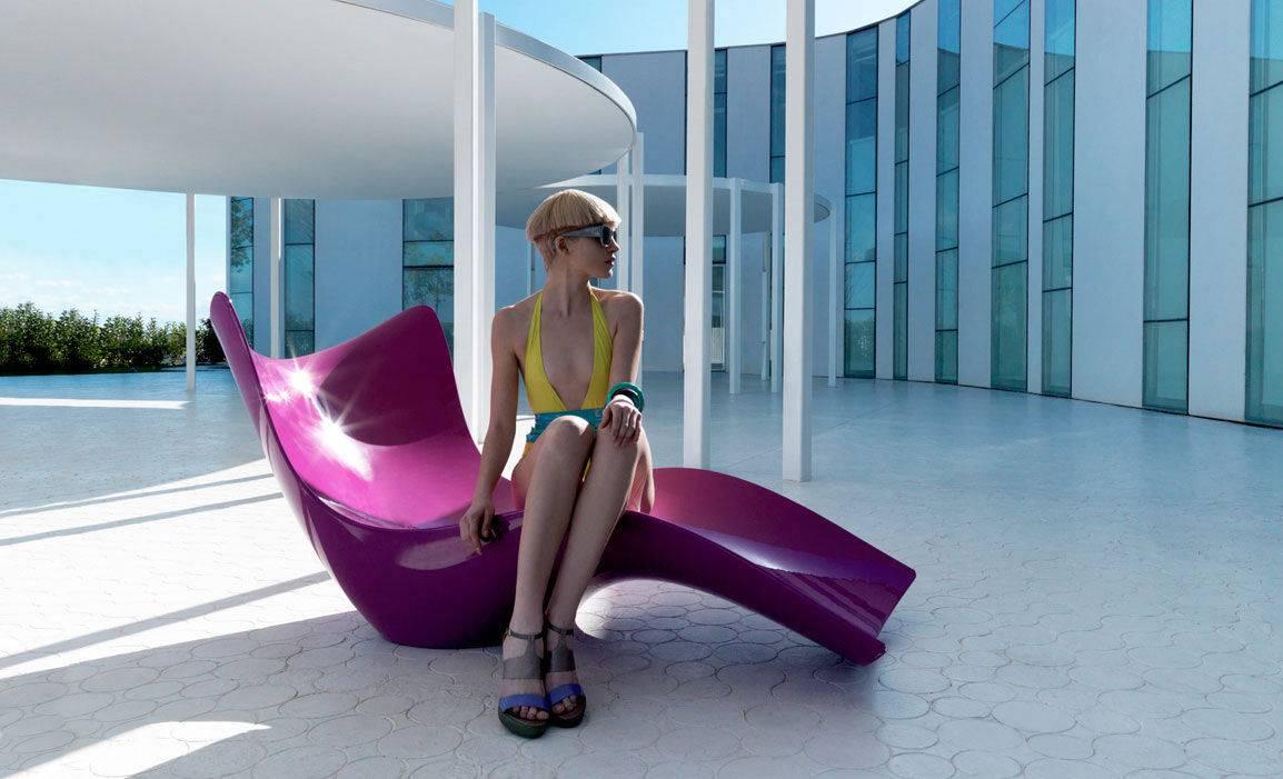 Karim Rashid Luminous Sun Lounger - archiexpo.com