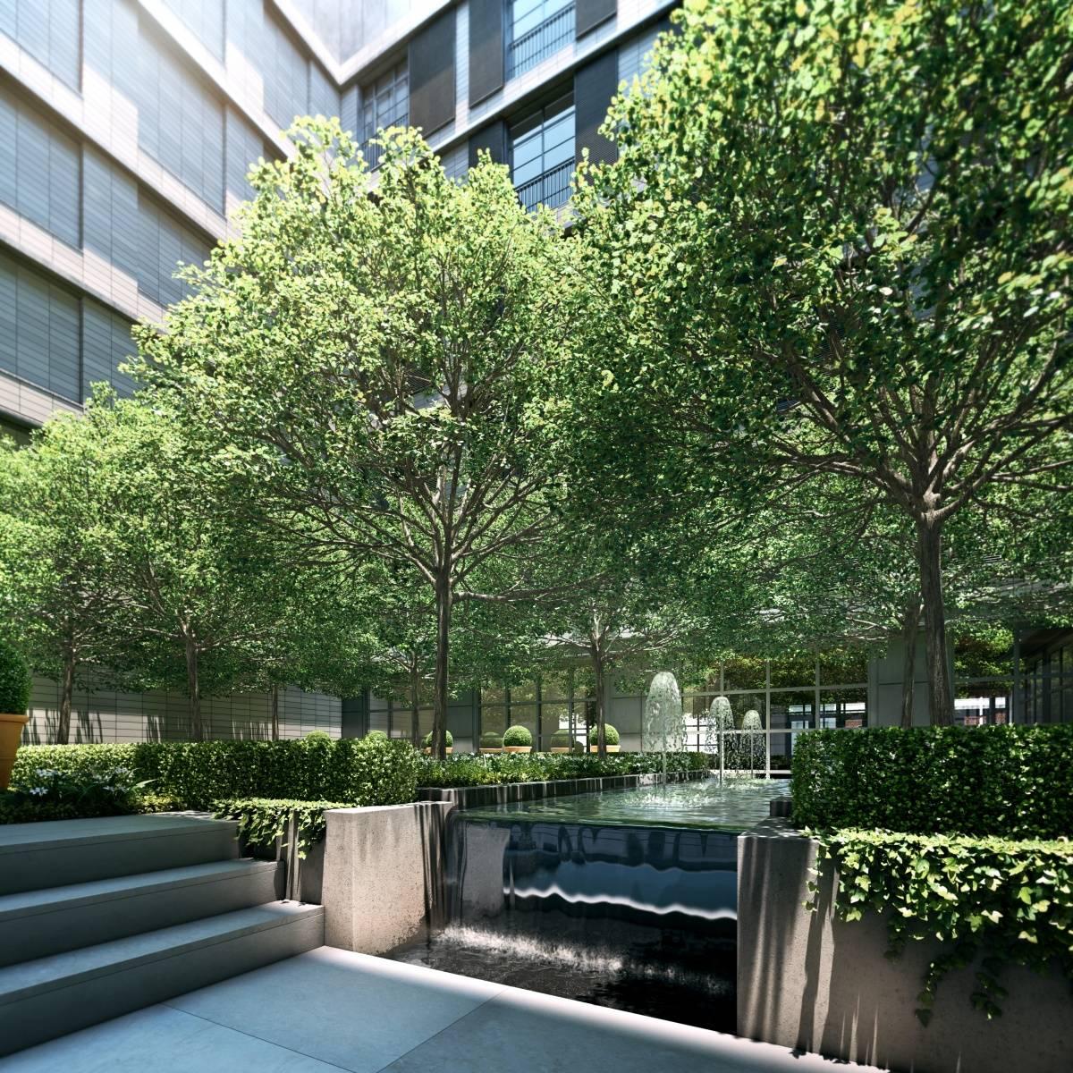 TSM courtyard