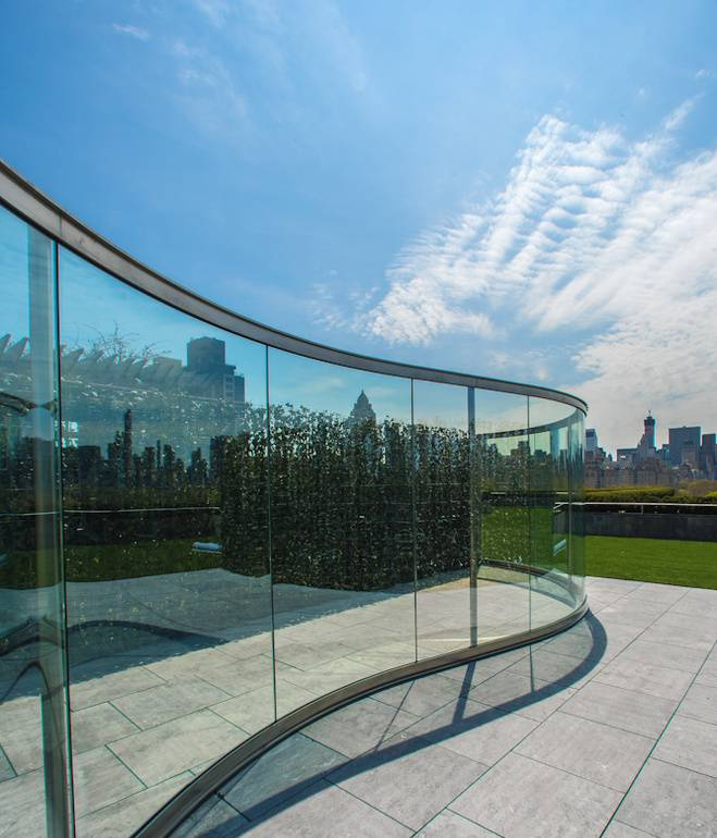 met-rooftop-dan-graham-landscape-glass-walls-sunlight