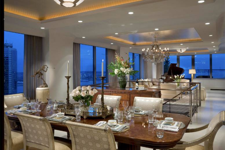This 118 5 million ritz carlton penthouse is record breaking for 10 river terrace nyc