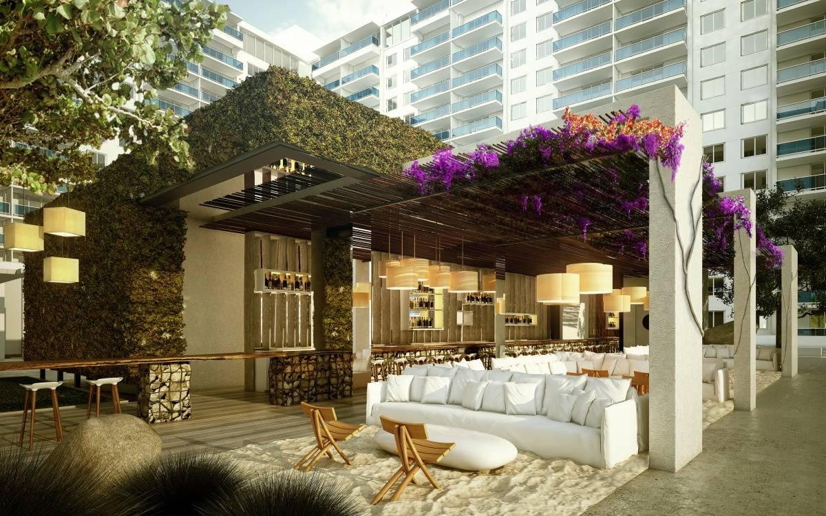 Pool Deck Cabana Landscape