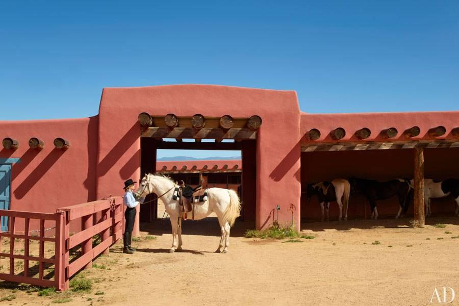 Architectural Digest - Jane Fonda Ranch
