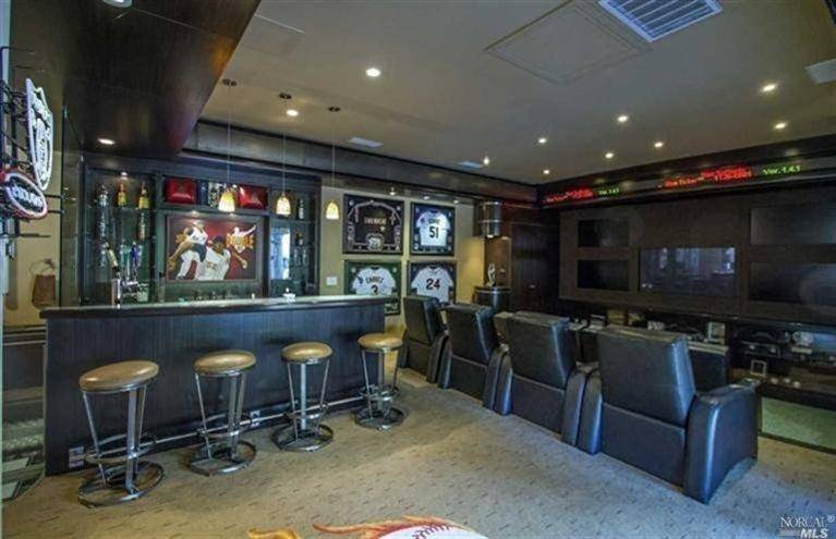 Man Cave Store Salisbury Nc : Jaw dropping man caves of famous athletes
