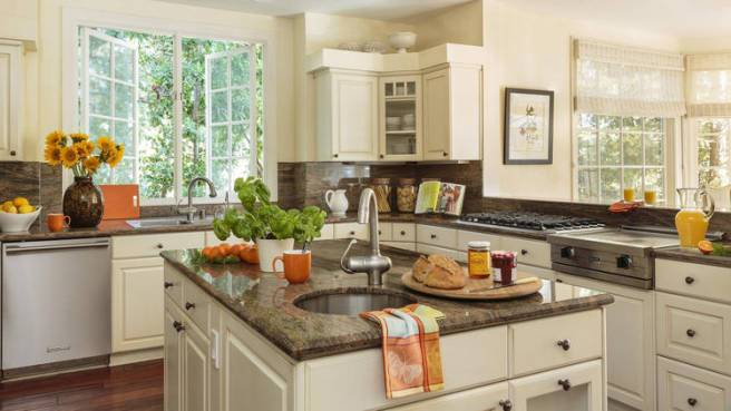 Sarah Michelle Gellar and Freddie Prinze Jr. Home - Kitchen