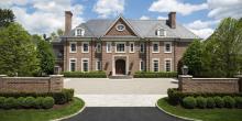 Greenwich, CT Georgian Colonial Mansion