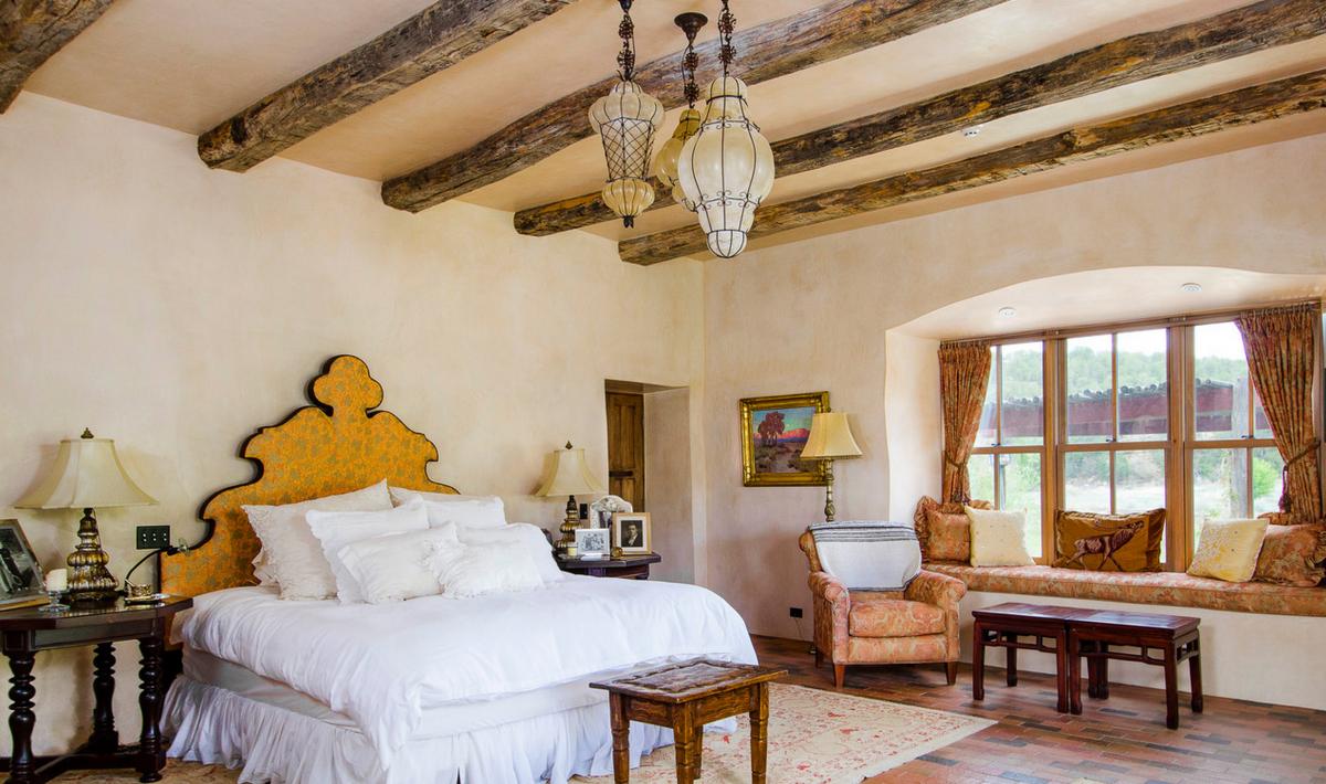 Jane Fonda Ranch Bedroom
