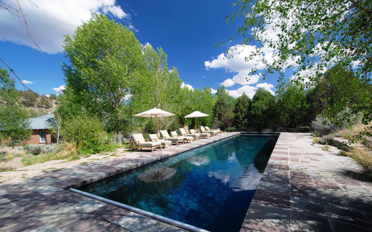Jane Fonda Ranch Pool
