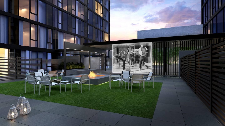 540West Outdoor Courtyard