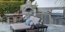 Neil Patrick Harris' Home Outdoor Kitchen