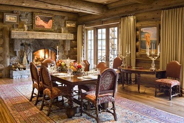 William Koch Estate Dining Room