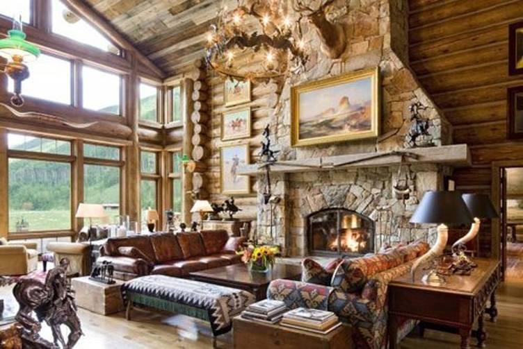 William Koch Estate Living Room