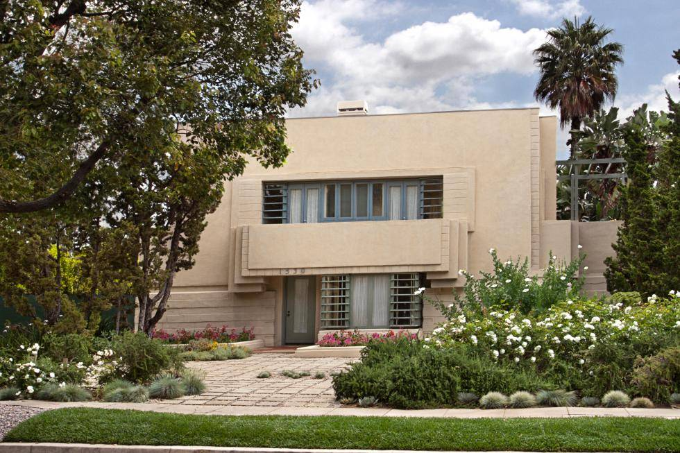 Frank Lloyd Wright's Hollywood Concrete Home