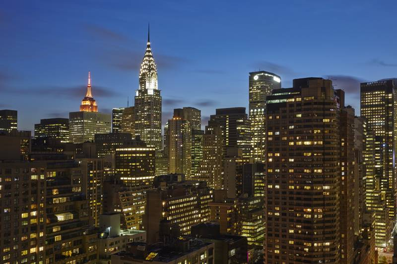 New York City's Midtown East skyline