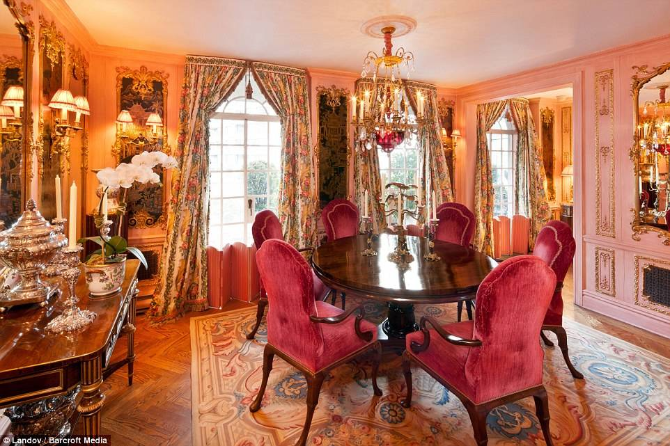 Rivers Nostalgically Described Her Home As Louis Xiv Meets Fred And Ginger