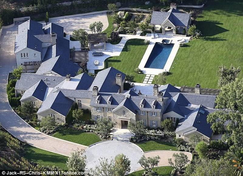 Kim and kanye west new house