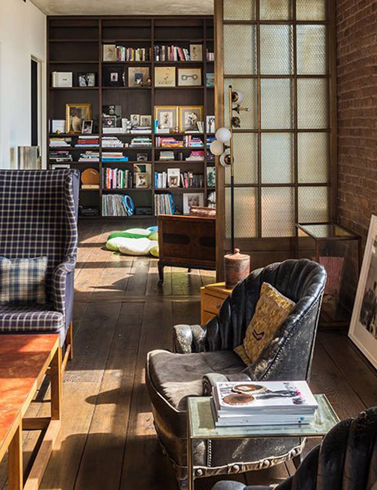 Kirsten Dunst's Soho Loft