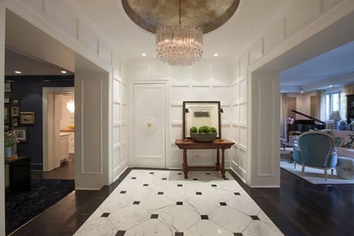 Playboy mansion foyer