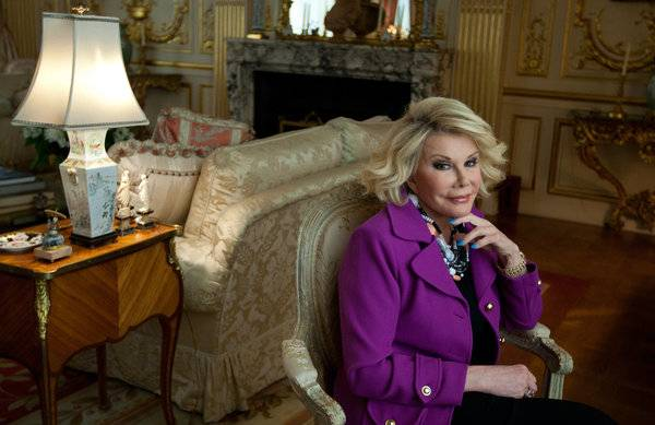 Comedian Joan Rivers' $29.5 million asking price for her Upper East Side penthouse has been no laughing matter. --Photo Credit: RuthFremson/NYTimes
