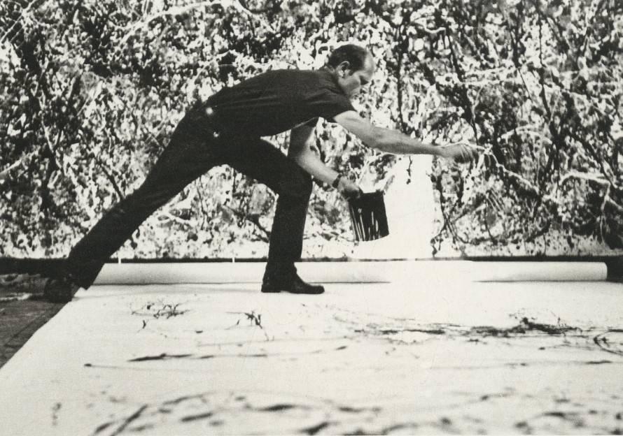 Jackson Pollock, Photo © Hans Namuth