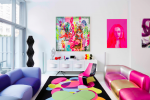 Designer Karim Rashid Opens the Doors to His Colorful Home