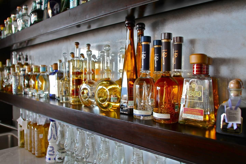 Casa Yvonne's Tequila bar
